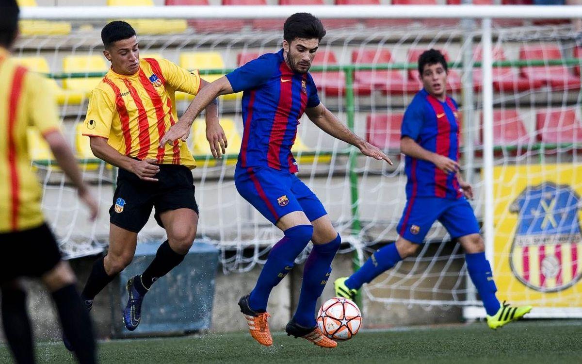 UE Sant Andreu – Barça B: Se acaba la Copa Catalunya para el filial (2-1)