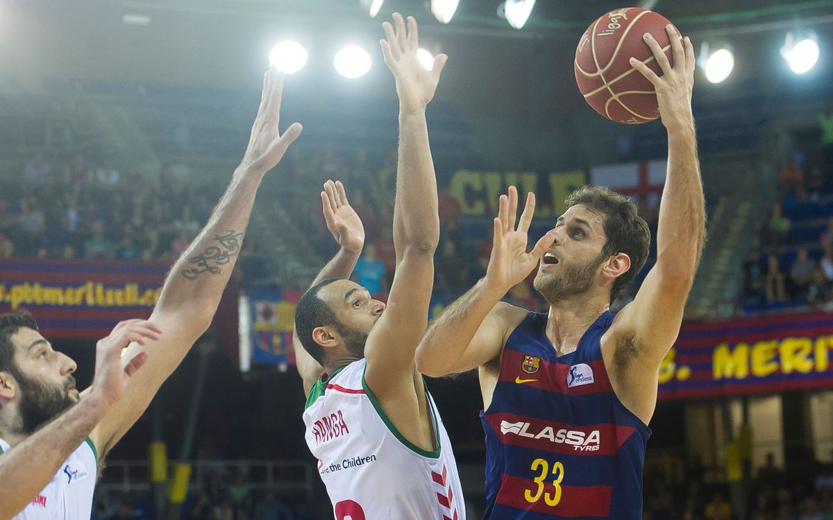 FC Barcelona Lassa take 2–0 series lead with 73–68 win over Laboral Kutxa Baskonia