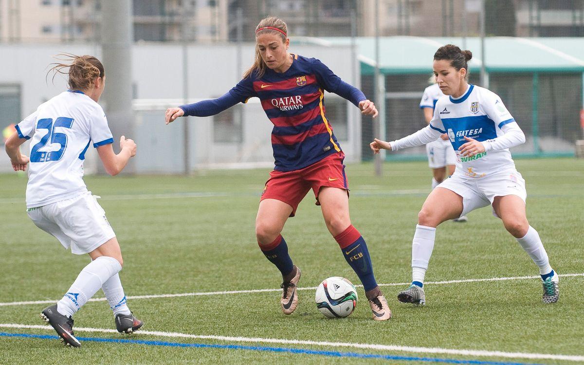 El Barça Femenino volverá a estrenar la Liga en Tenerife
