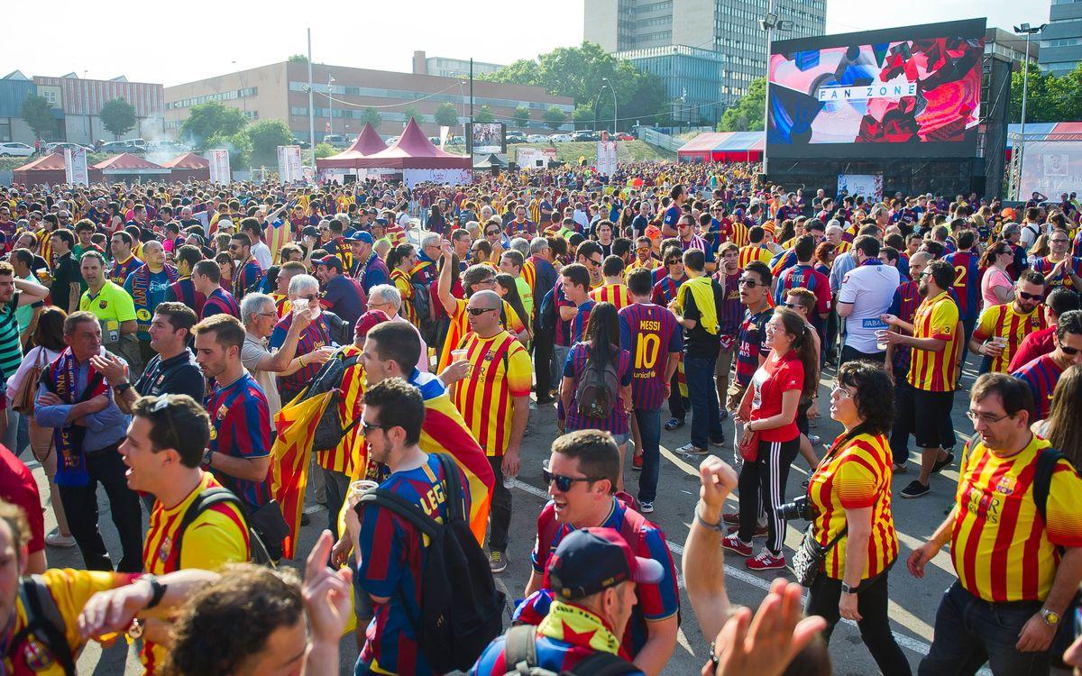 Inicio del período de cesión de las entradas para la Copa