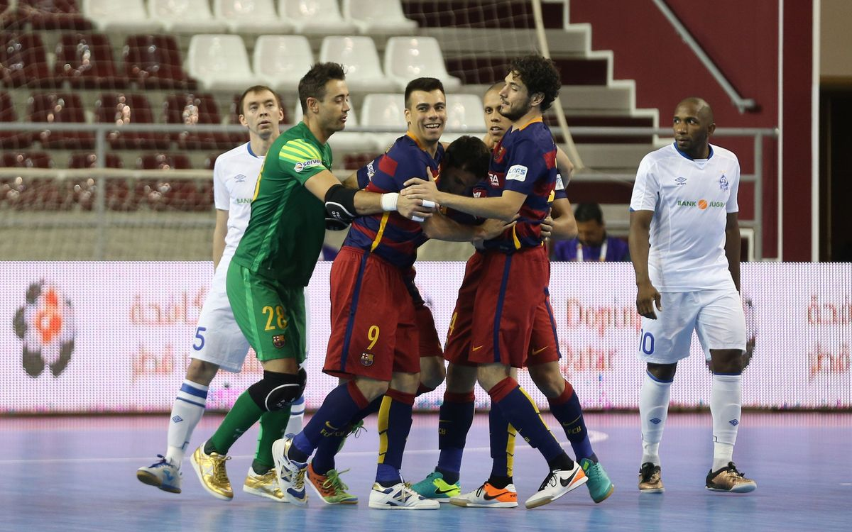 FC Barcelona Lassa v Dynamo Moscow: Another big step (3-2)