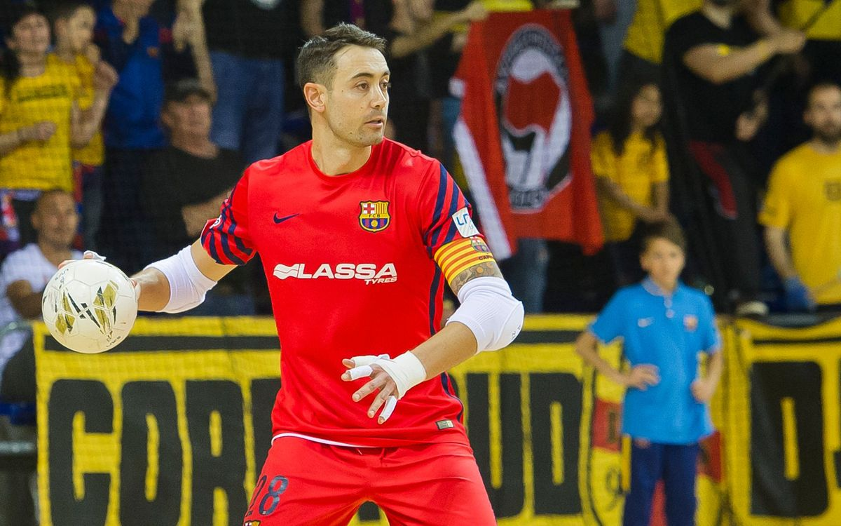 El FC Barcelona Lassa tiene la mejor defensa del play-off de la LNFS