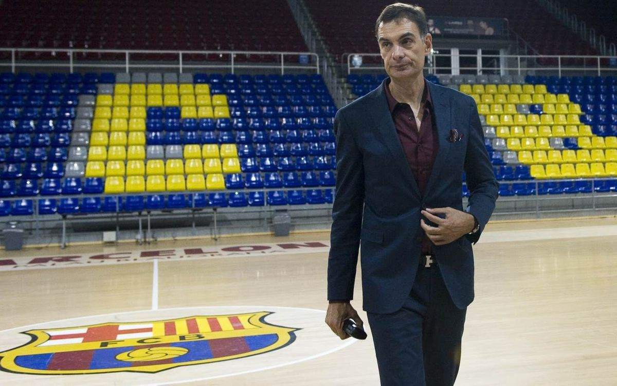 Bartzokas presented as new FC Barcelona Lassa head coach