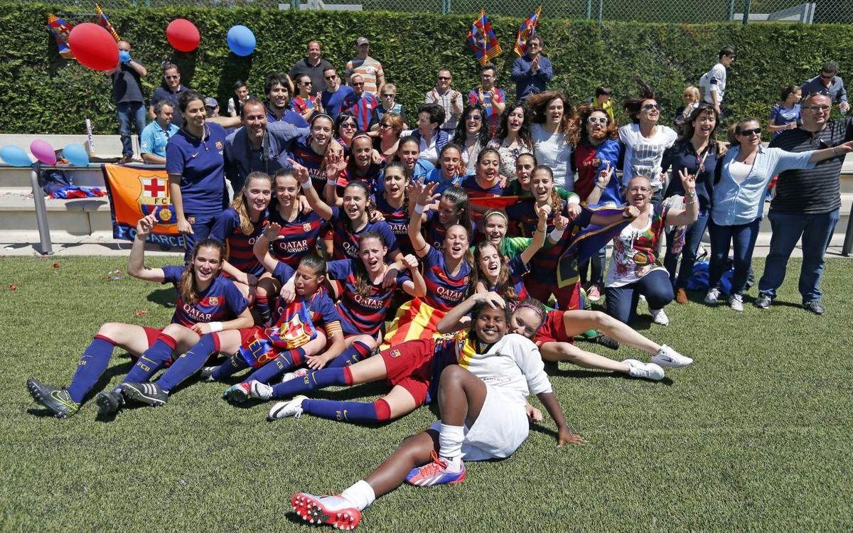 El Femenino B, campeón de la Segunda División