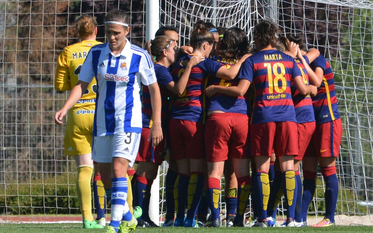 Real Sociedad v FC Barcelona: Through to the semifinals (1-5)