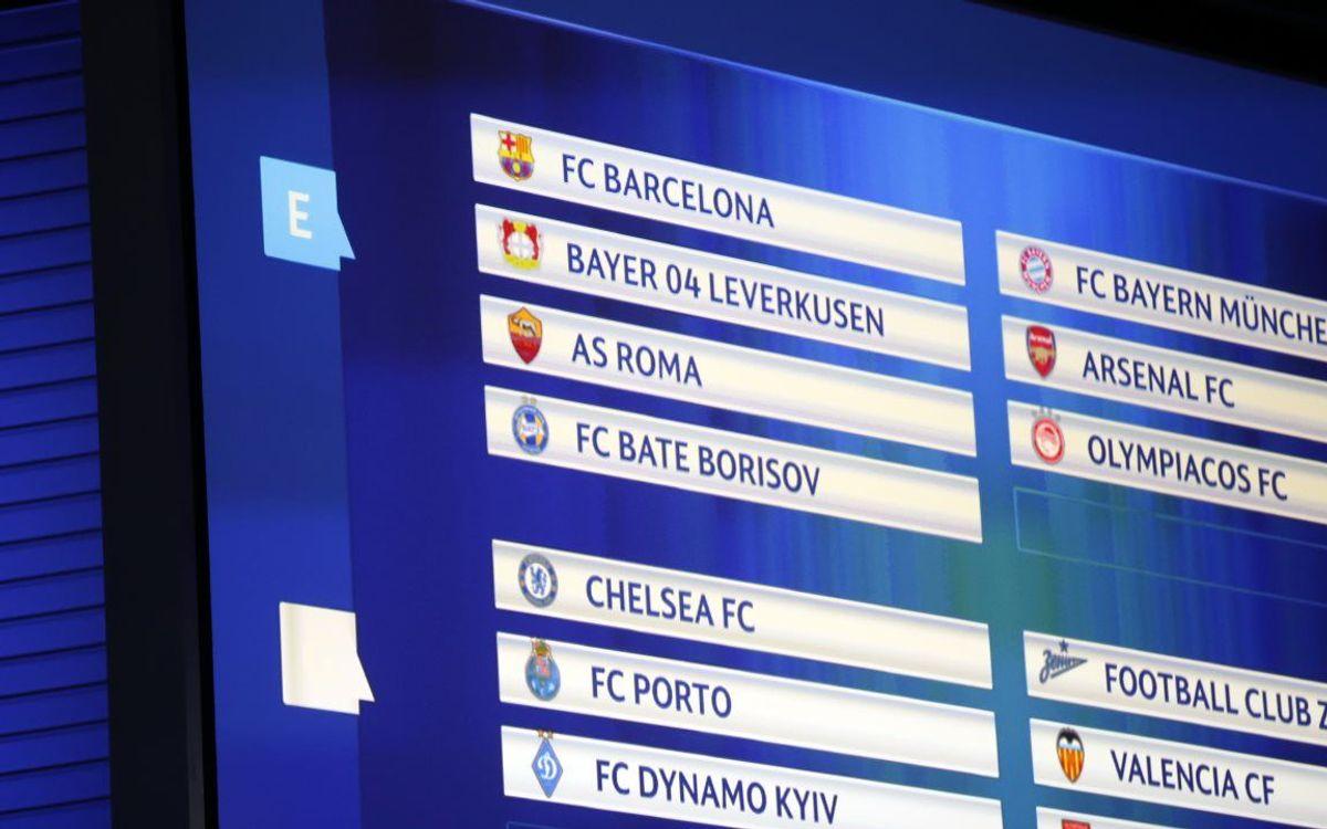 Todo listo para el sorteo de la Champions en Mónaco