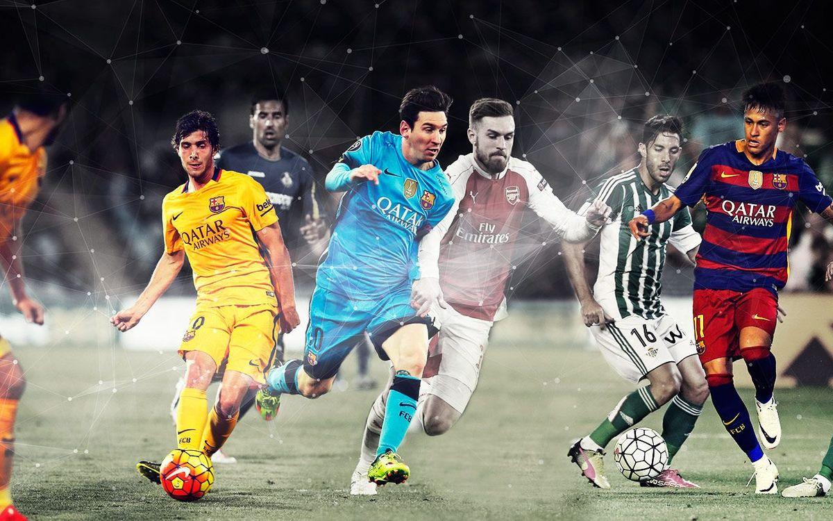 Ten best team goals of the FC Barcelona 2015/16 season