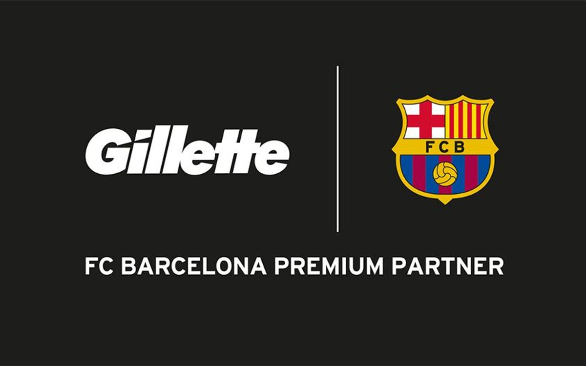 FC Barcelona and Gillette extend sponsorship agreement