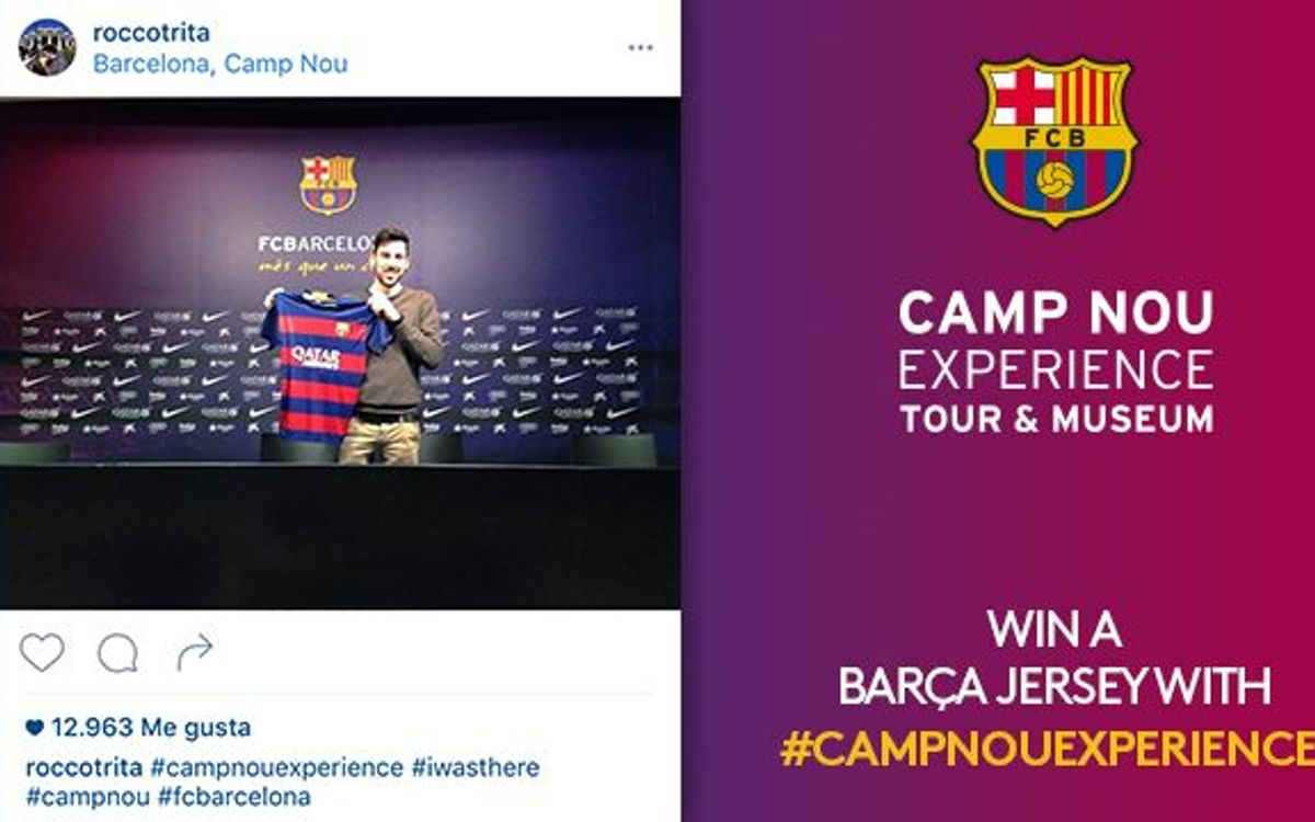 Now we know the winner of the 'Camp Nou Experience' competition for March