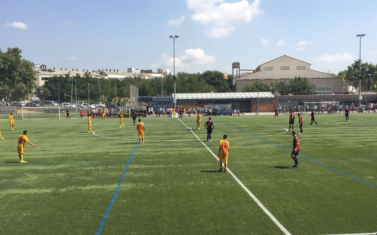 El Juvenil B comença la Lliga Nacional amb un triomf contra el Mercantil (0-4)