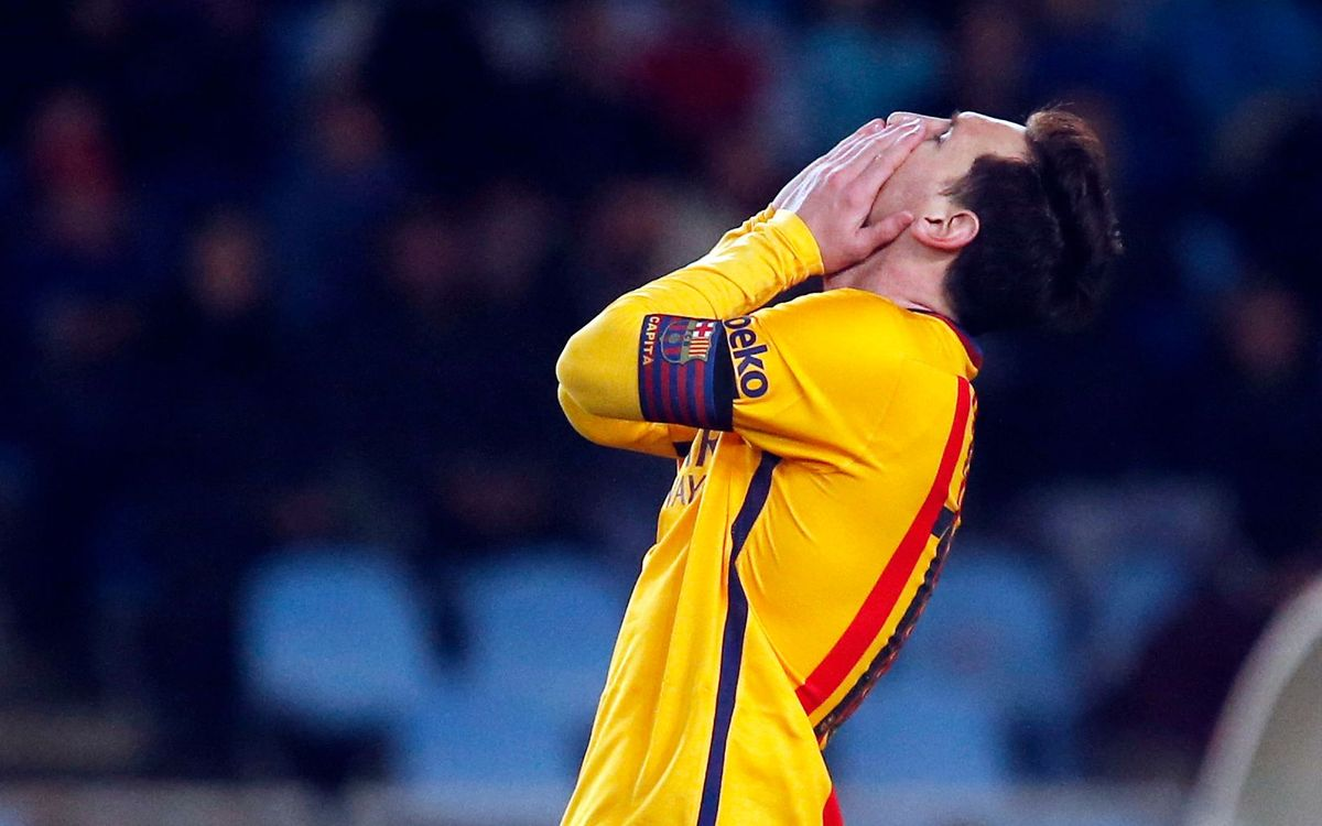 Real Sociedad v FC Barcelona: Agony at Anoeta (1-0)