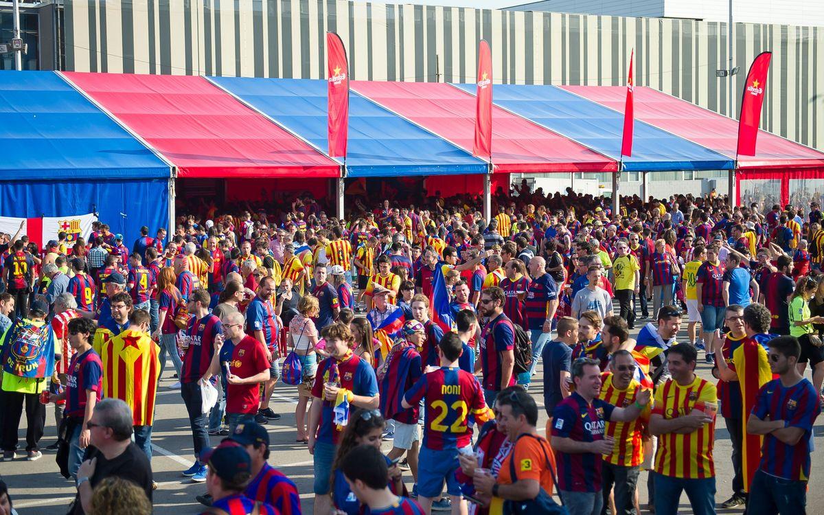 Els socis demanen un total de 31.116 entrades per a la Copa