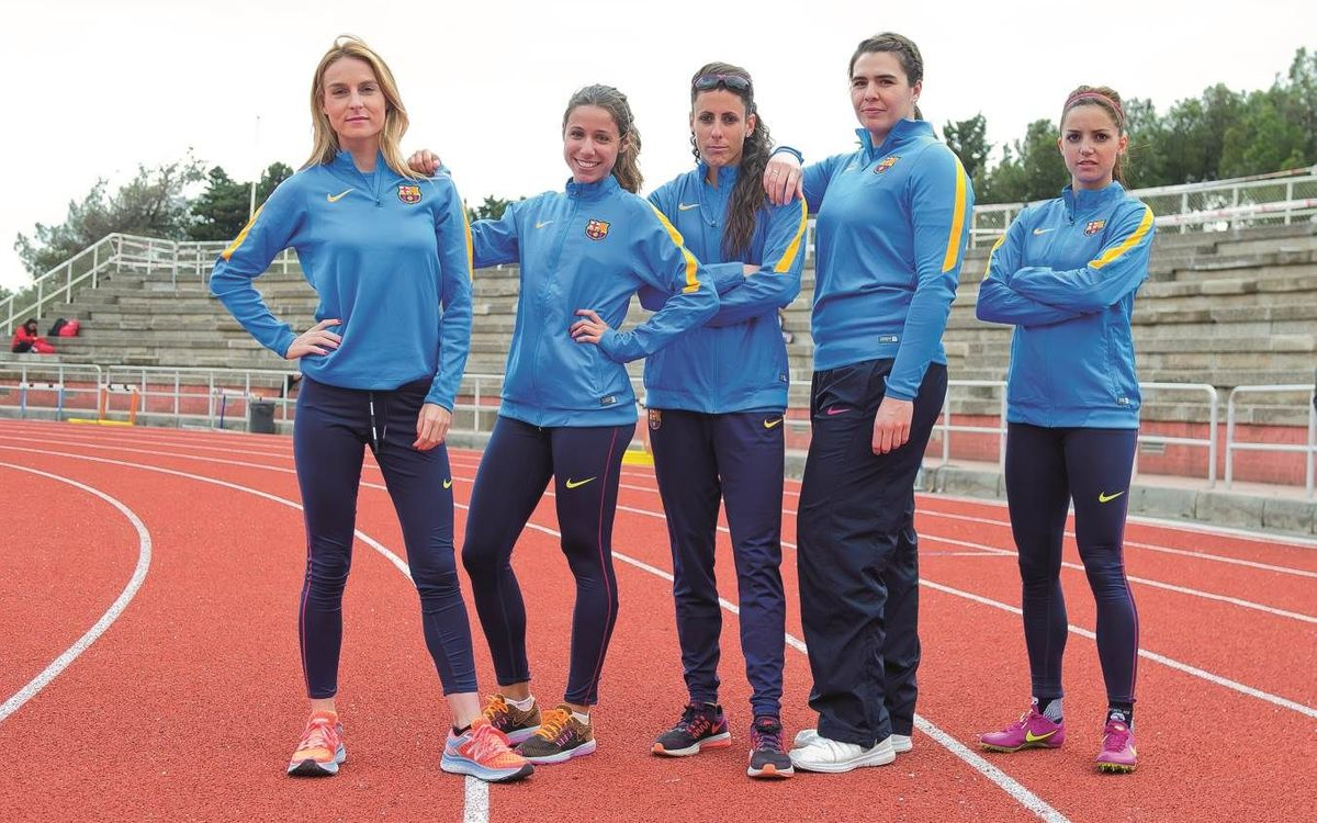 FC Barcelona represented in women's athletics in Rio