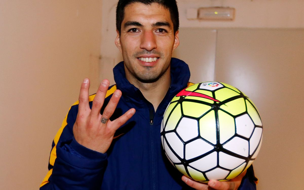 Luis Suárez relishing 'incredible challenge' of league and cup double
