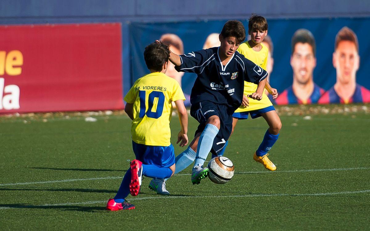El Torneig de Futbol 7, tret de sortida del Congrés Mundial de Penyes
