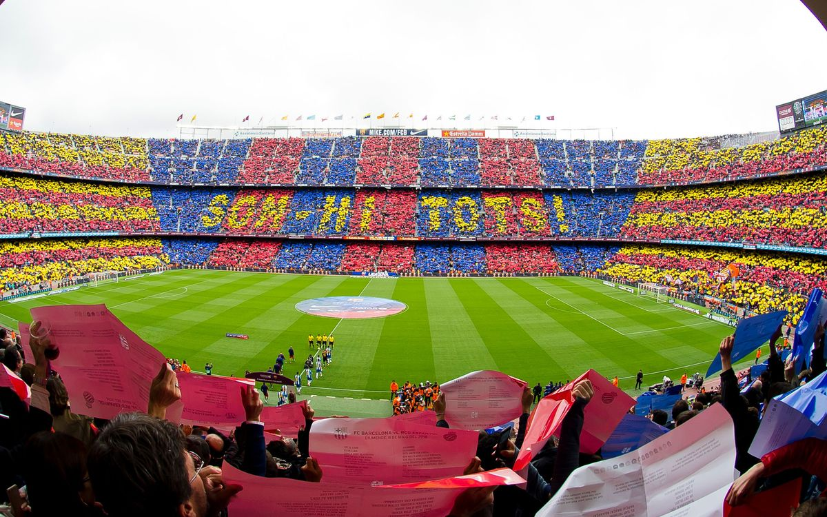 La Lliga torna al Camp Nou