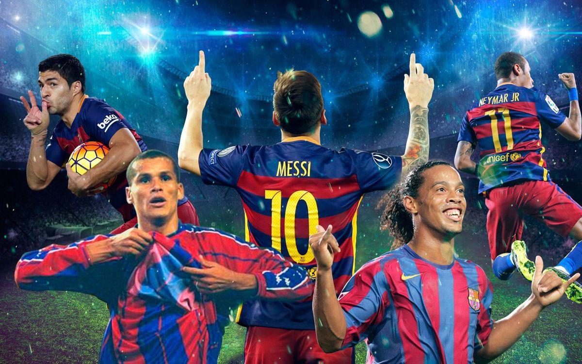 Five iconic celebrations