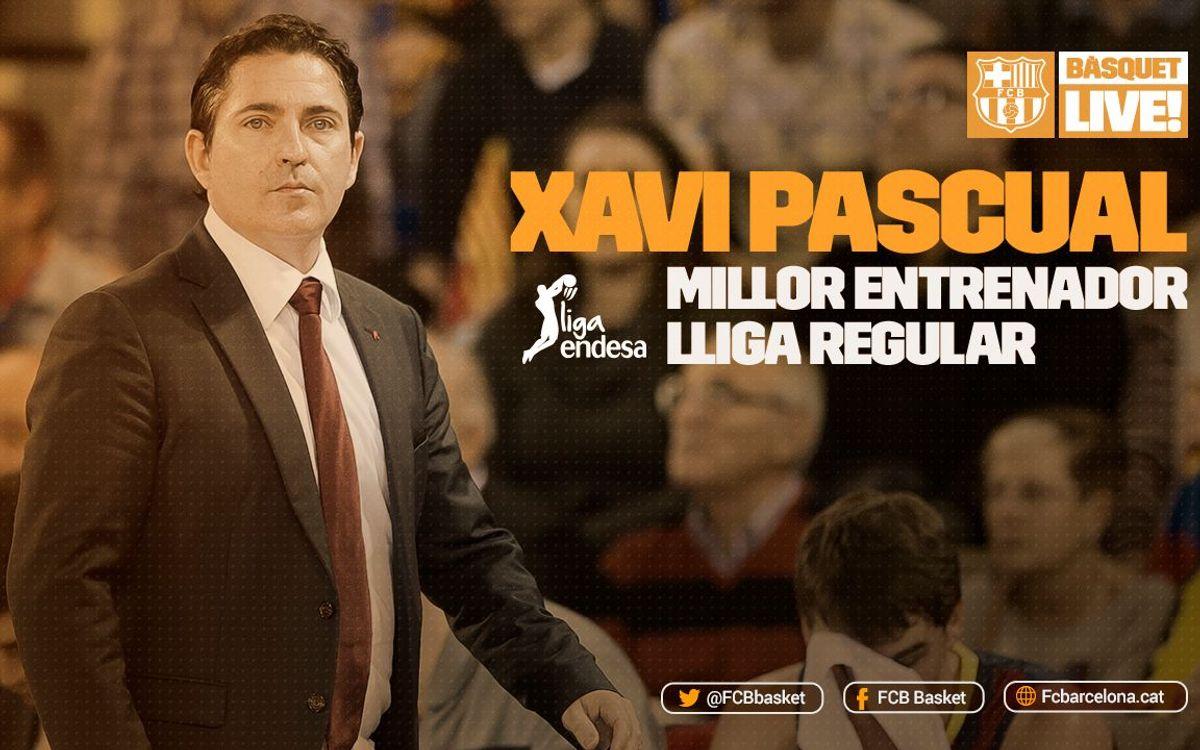 Xavi Pascual, Millor Entrenador de la fase regular de la Lliga Endesa 2015/16