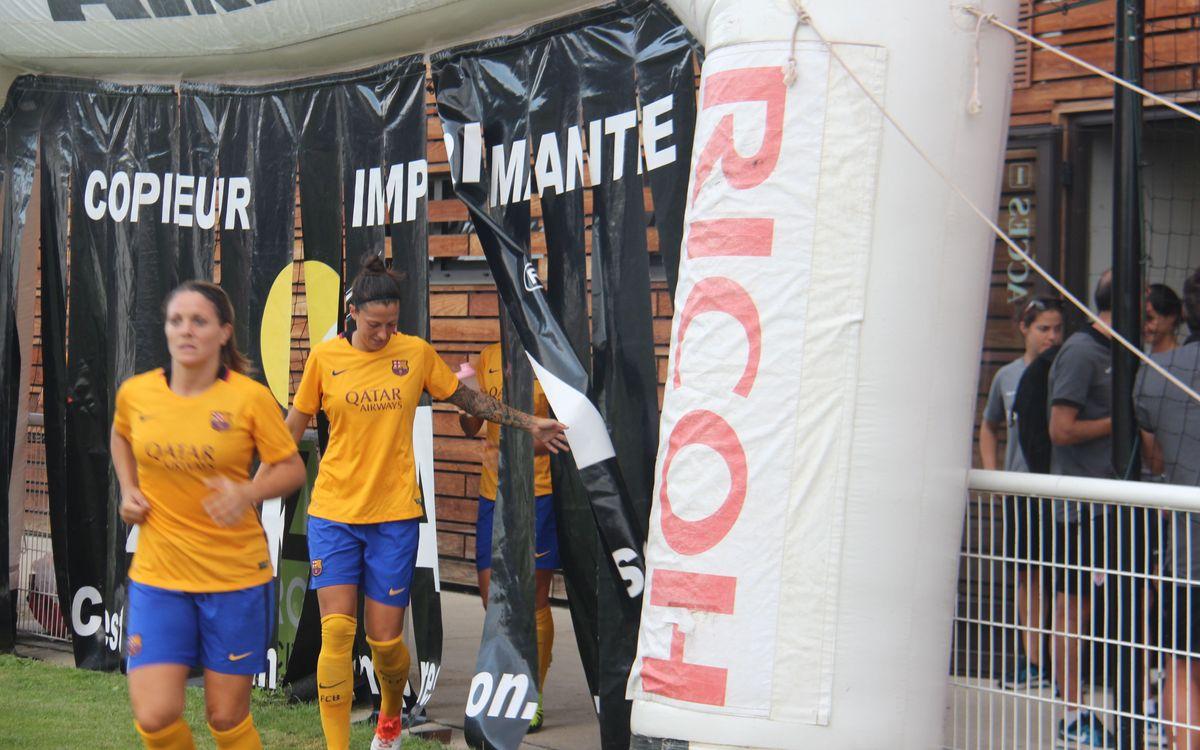 ASPTT Albi - FC Barcelona Femenino: Segundo ensayo en Francia