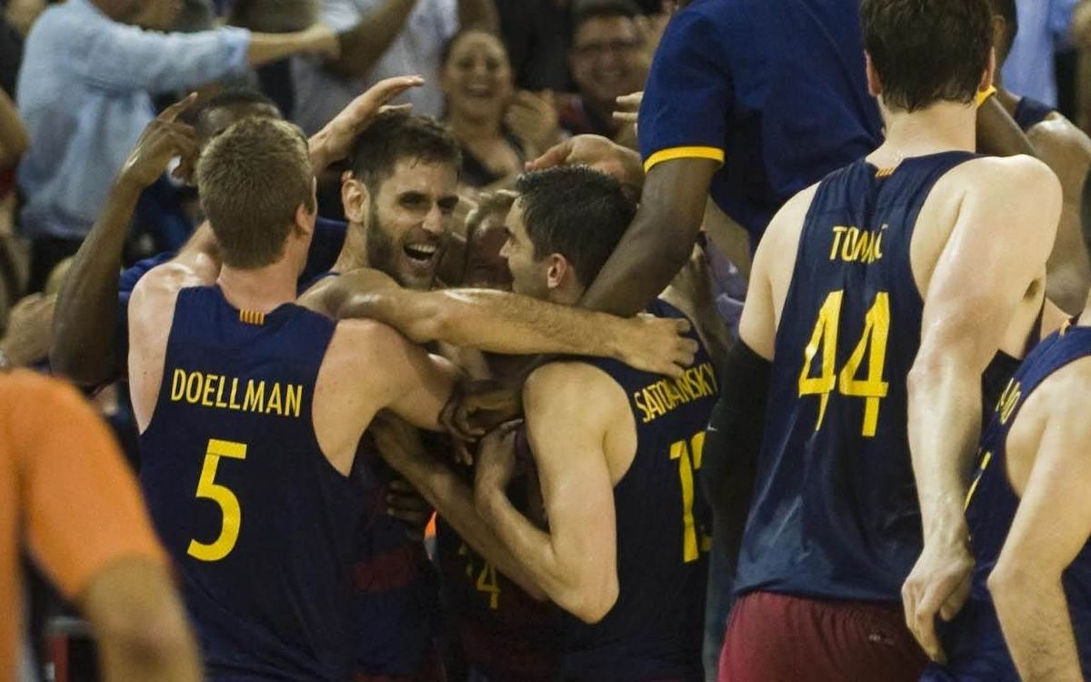 FC Barcelona Lassa v Real Madrid: Dramatic late win to start the series (100-99)