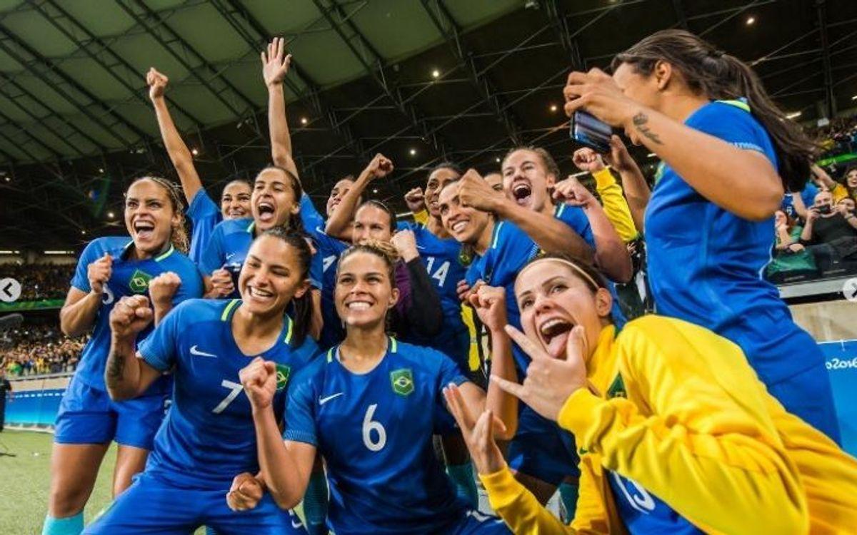 El Brasil d'Andressa Alves, a semis per penals (0-0)
