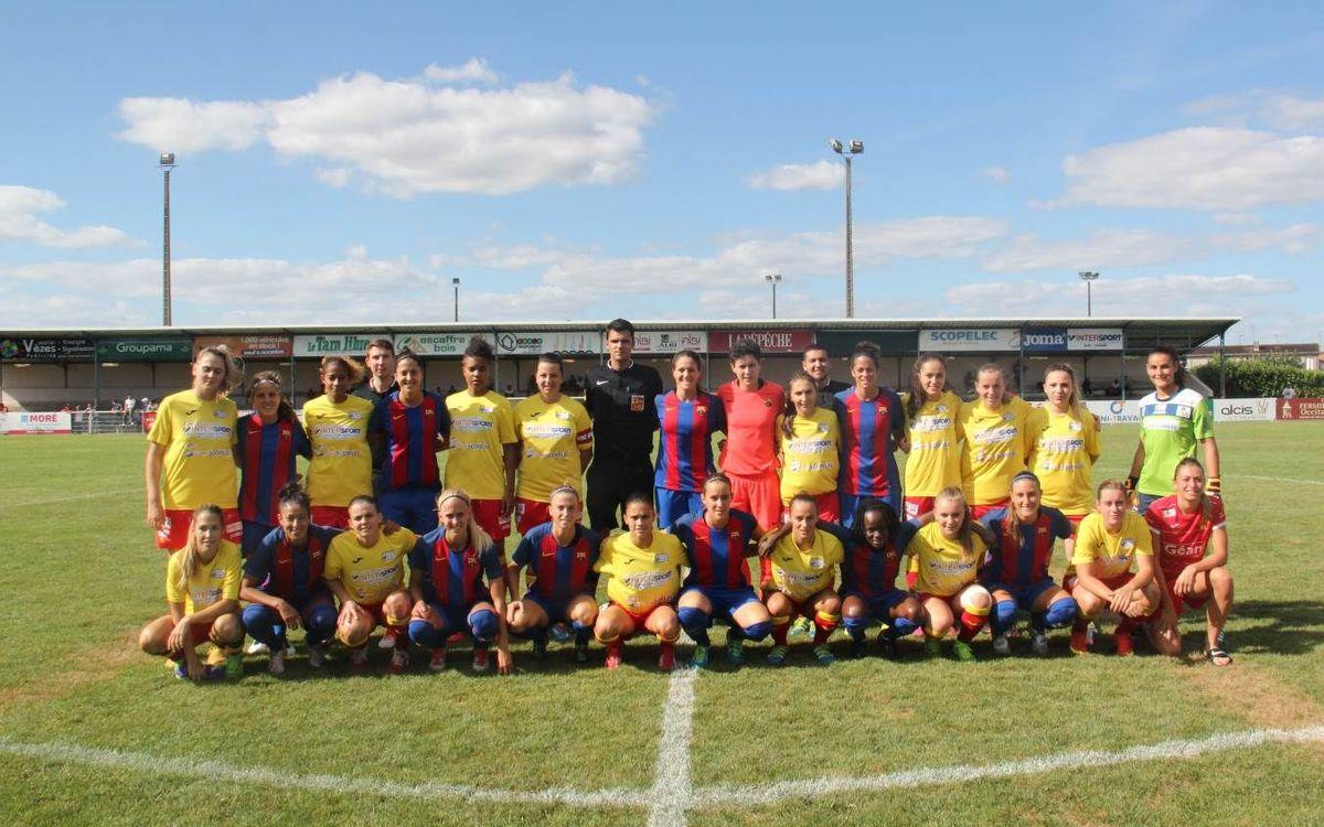 ASPTT Albi - FC Barcelona Femenino: Triunfo en un partido sólido y completo (0-2)