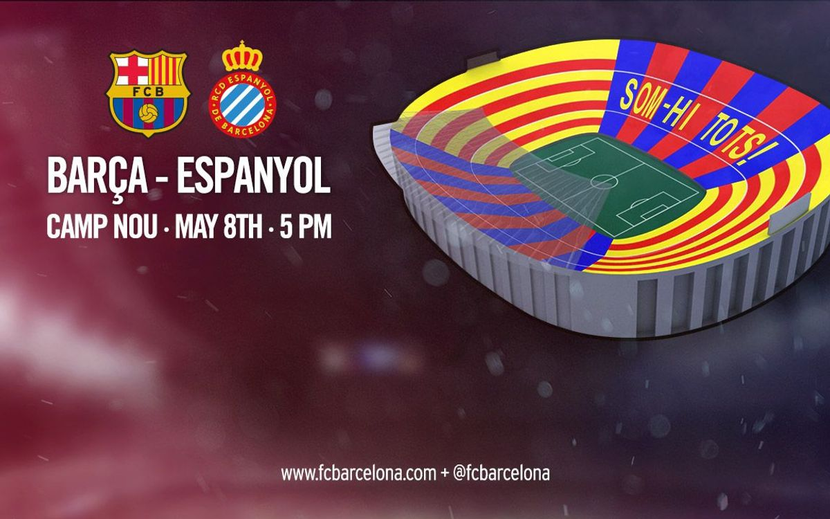Camp Nou to display special mosaic at Sunday's derby