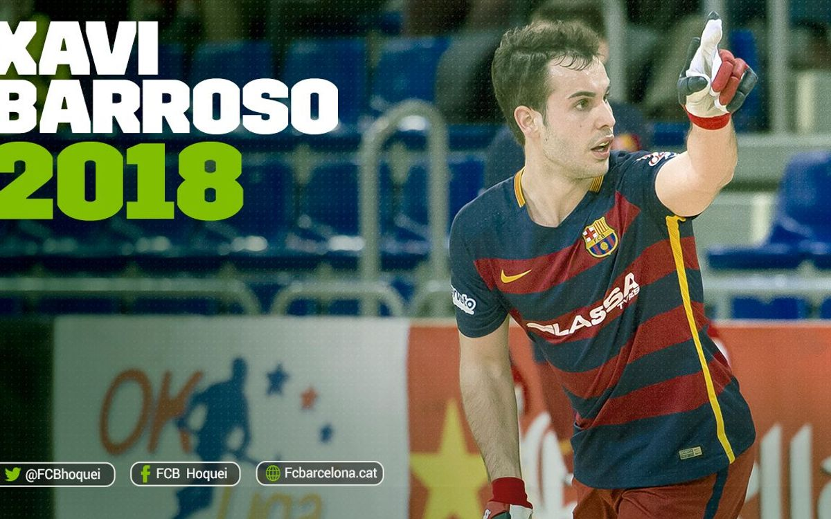 Xavi Barroso to stay at FC Barcelona Lassa until 2018