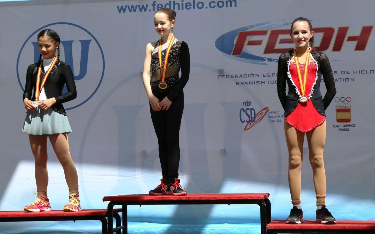 Bon paper al Campionat d'Espanya Infantil de patinatge artístic