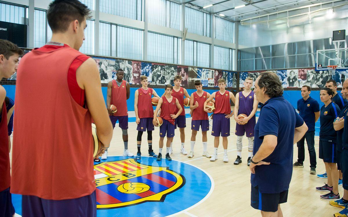 El Barça Lassa B ya trabaja en la Ciutat Esportiva
