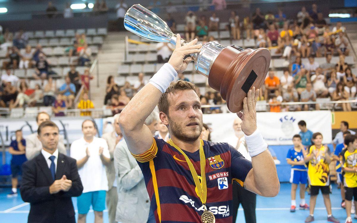 Definit el quadre de la Supercopa Catalana d'hanbdol