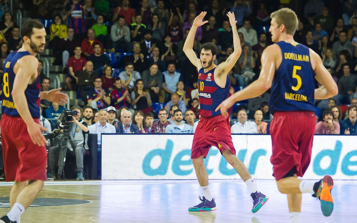 FC Barcelona Lassa v Lokomotiv-Kuban: Giant step towards the Final Four (82-70)