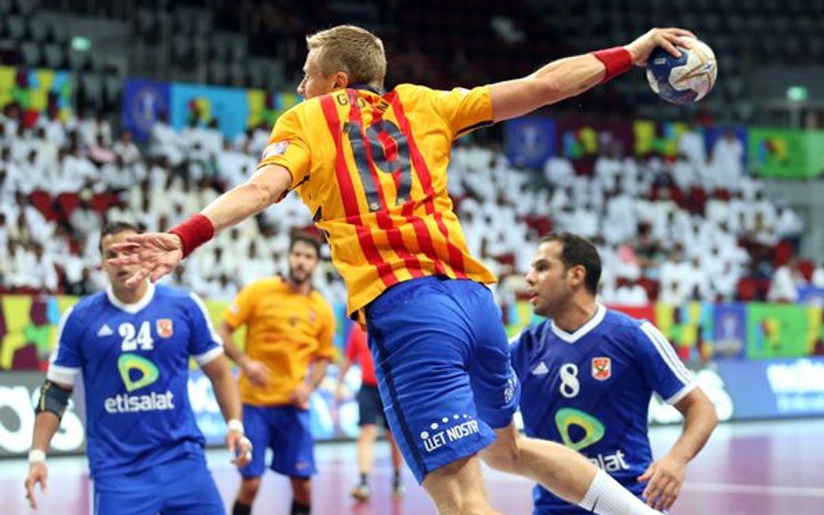 El Barça Lassa d'handbol cerca el triomf 70 a la Lliga