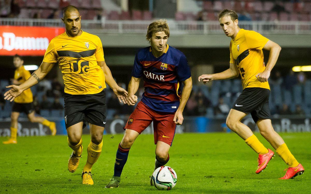 Badalona-Barça B: Mantener la ilusión para seguir escalando en la tabla