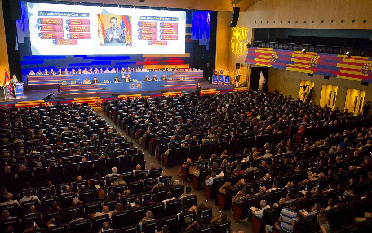 El Congrés Mundial de Penyes, colofó final