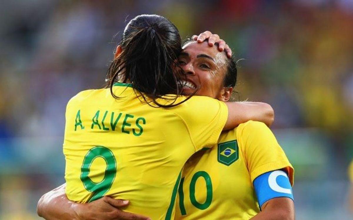 Andressa Alves marca el primer gol azulgrana en los Juegos Olímpicos (3-0)