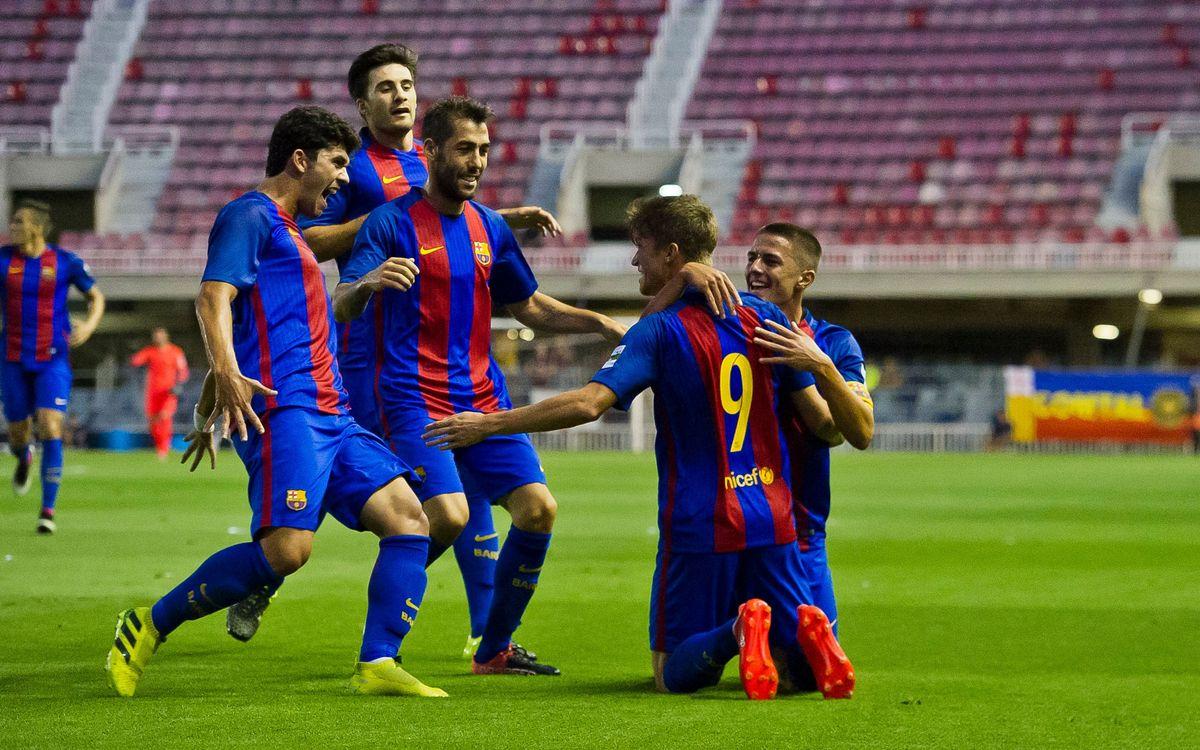 FC Barcelona B – Atlético Saguntino: Empiezan con buen pie (3-1)