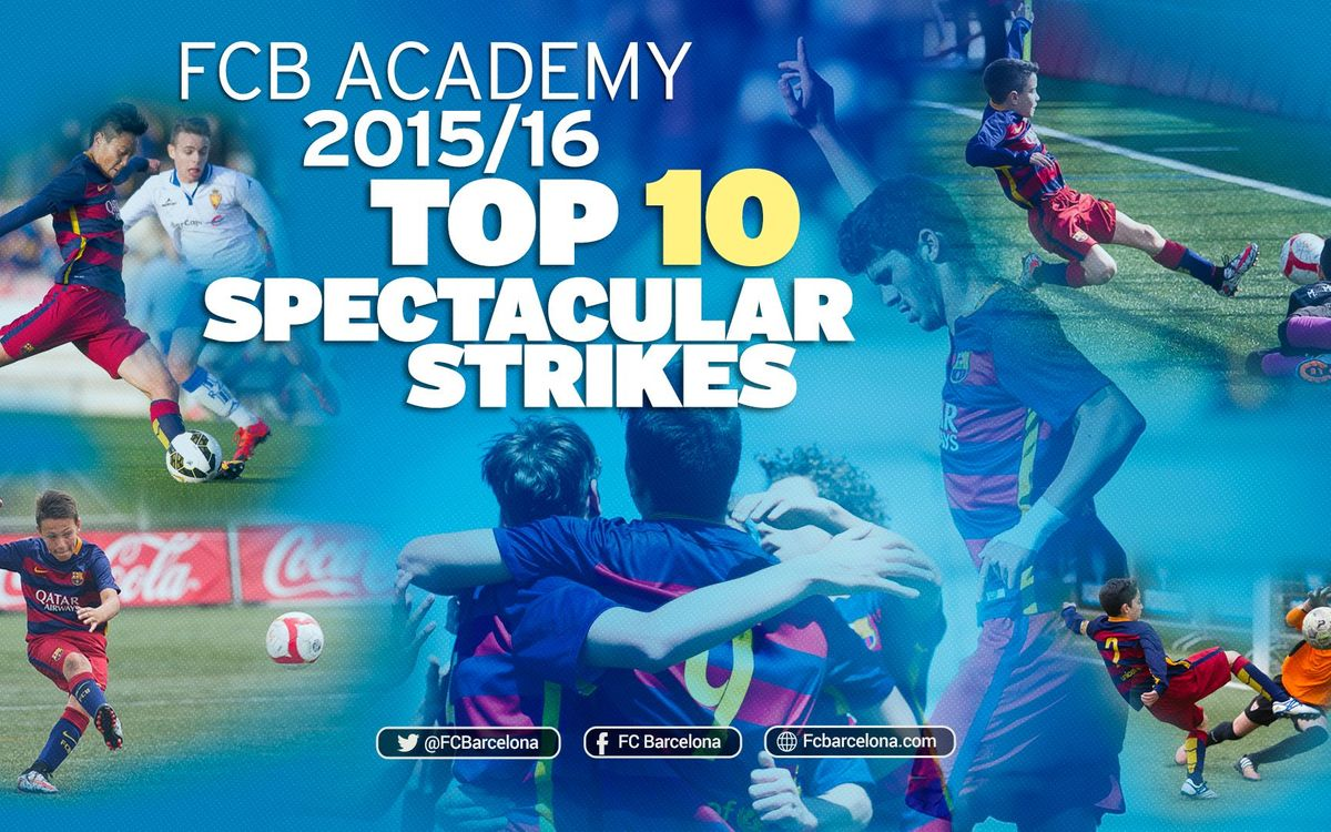 Top 10 finishes of the season by FC Barcelona's youth academy teams
