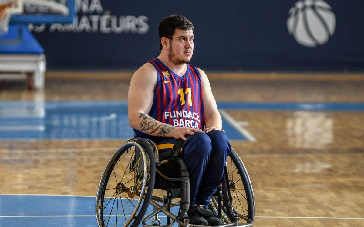 El Barça de bàsquet en cadira de rodes s'assegura el primer lloc de grup
