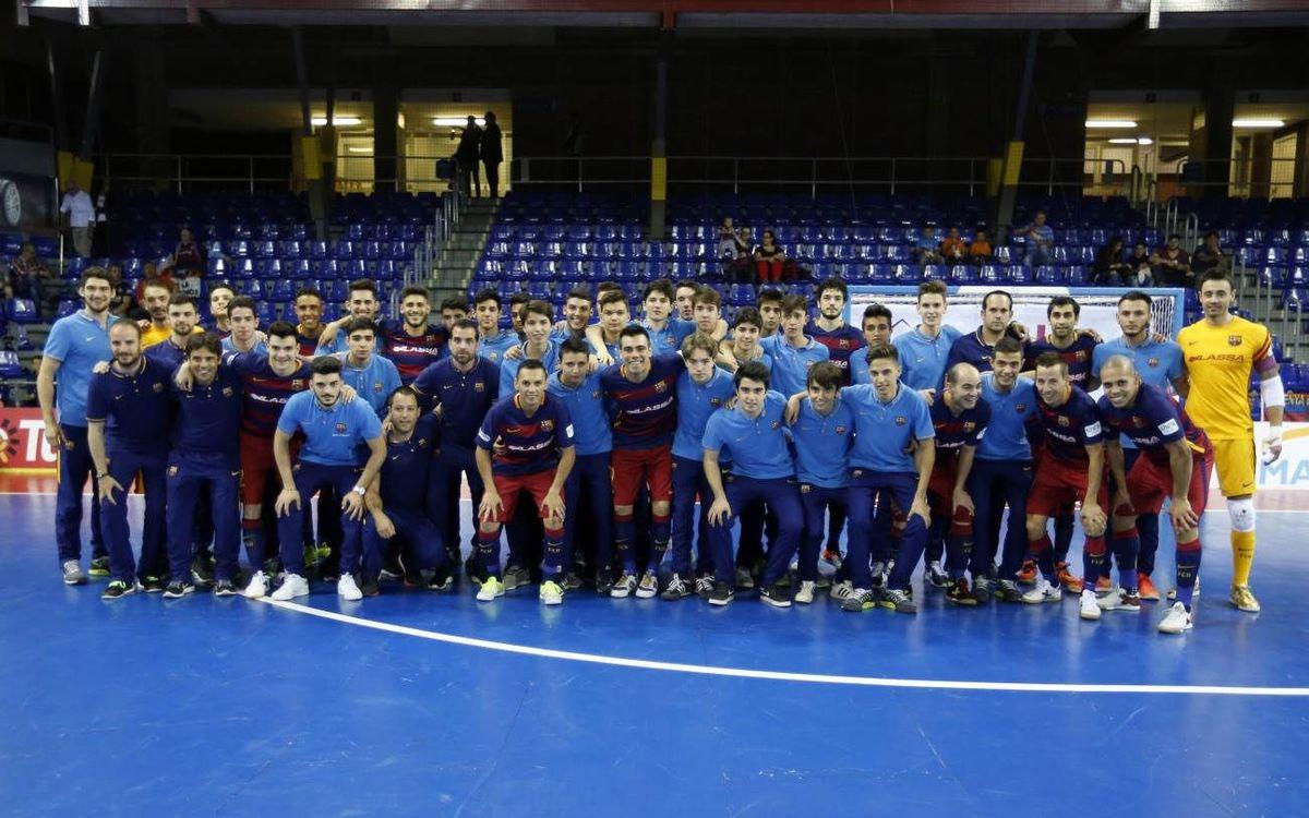 Tots els equips formatius del Barça Lassa guanyen les seves Lligues