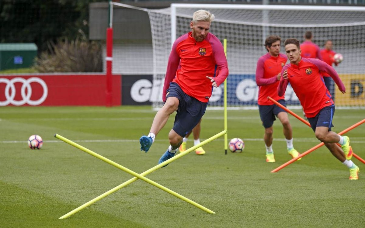 Day 4 video blog: Barça at St. George's Park