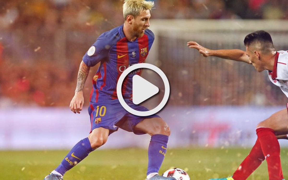 Spanish Super Cup video highlights: FC Barcelona - Sevilla FC