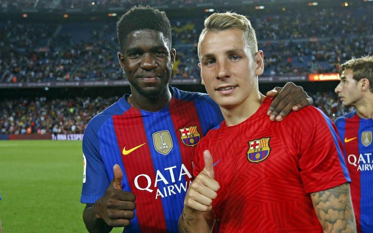 Así vivieron el Gamper las nuevas incorporaciones del FC Barcelona