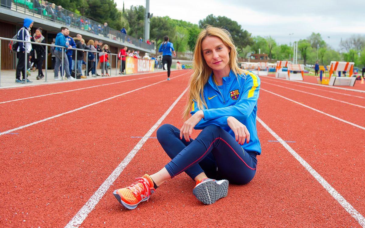 Raquel González aconsegueix la millor marca espanyola en els 3.000 m marxa