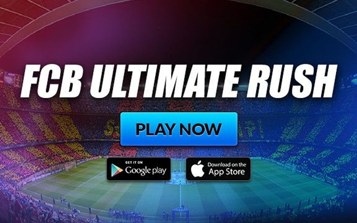 FC Barcelona Ultimate Rush a new gaming app for Barça fans