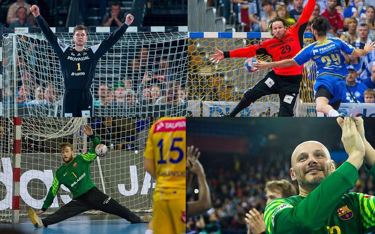 FC Barcelona Lassa - THW Kiel: Los porteros