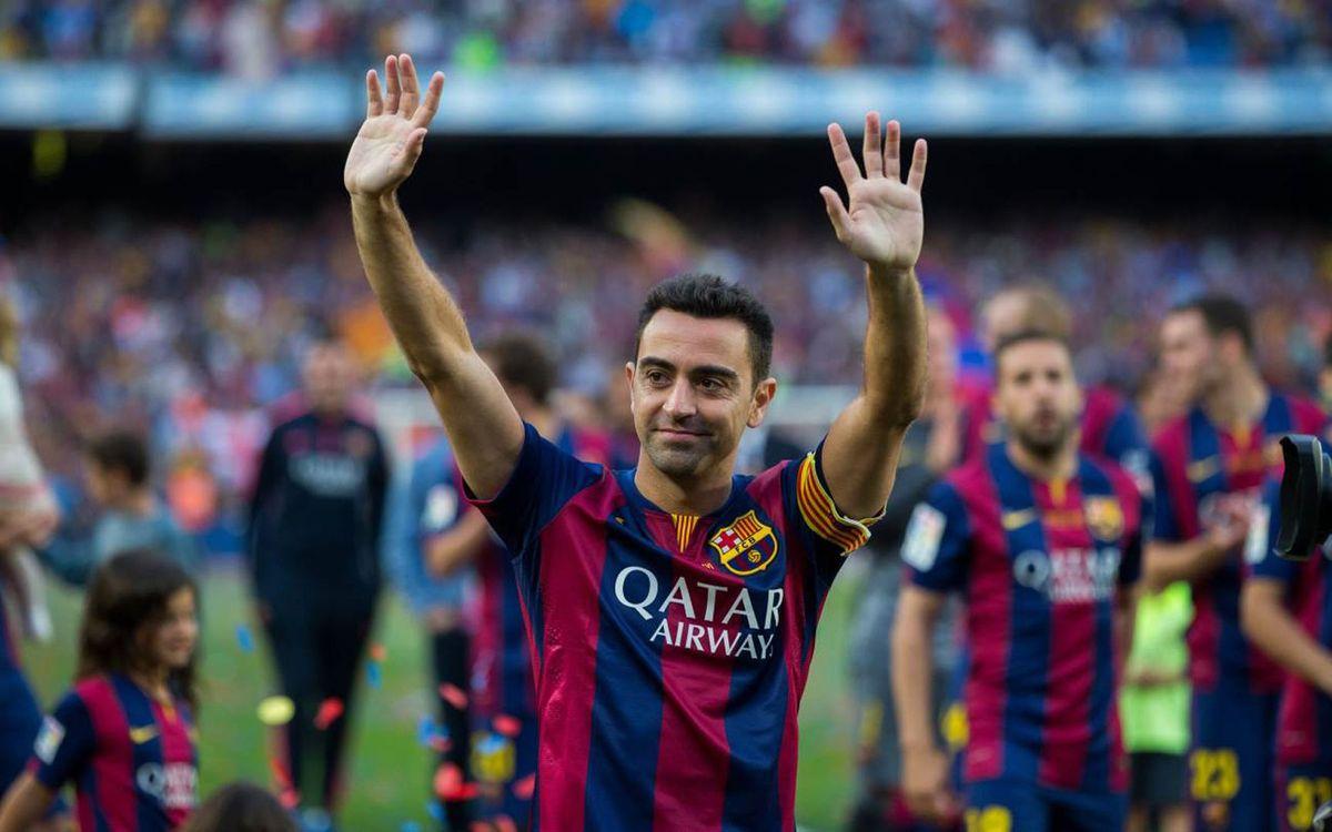 """Xavi Hernández: """"¡Veo jugar al Barça y se me cae la baba!"""""""