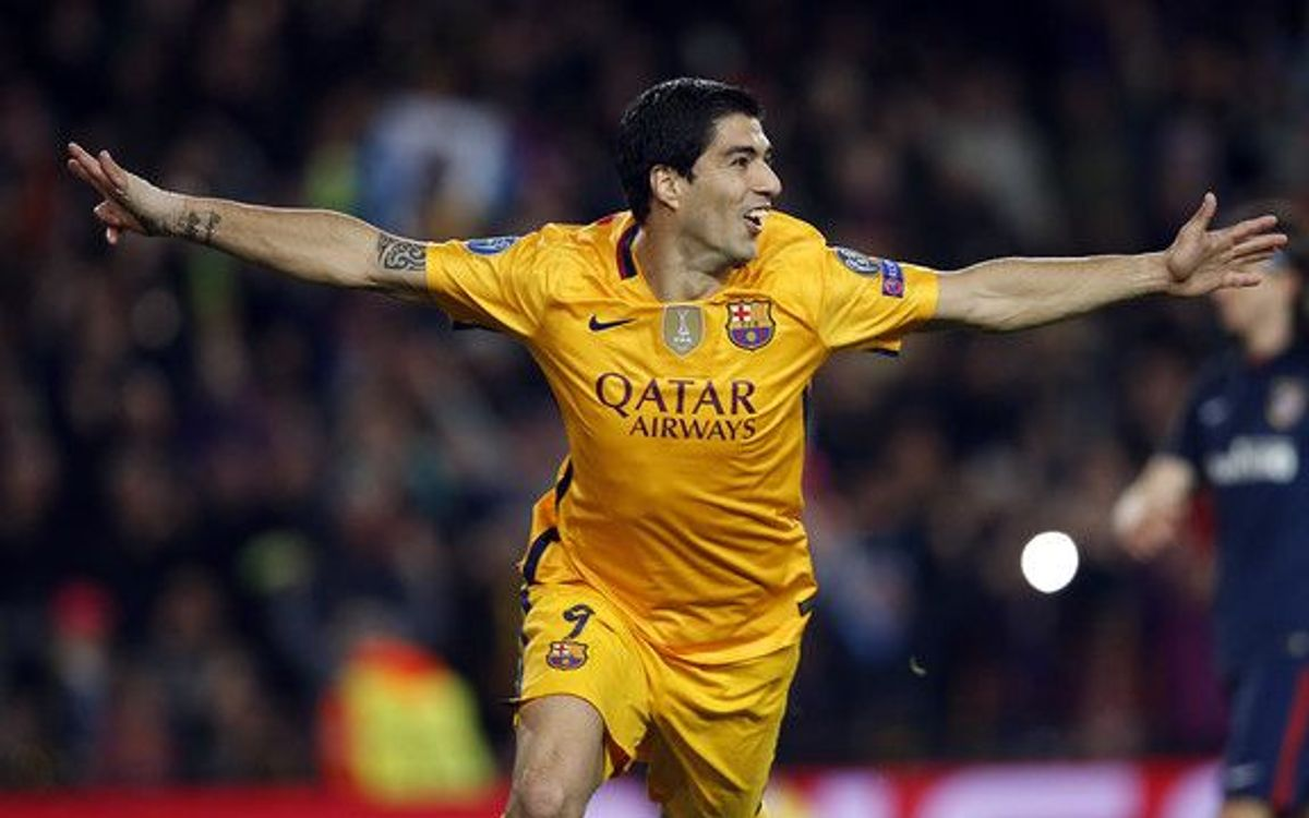 FC Barcelona take first-leg thriller in 2–1 victory over Atlético Madrid