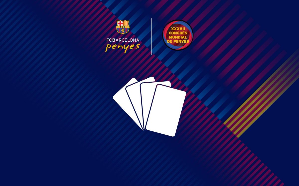 FC Barcelona Penyas Card Tournament