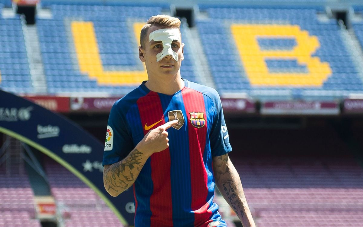 New FC Barcelona signing Lucas Digne promises to